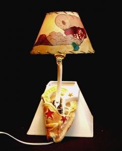 CERAMIC WAL HL LAMP 15 IN H