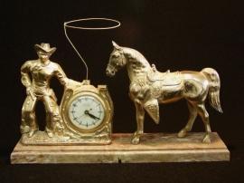 COWBOY LARIT CLOCK