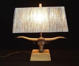 BRANDT STEER LAMP 18 IN H