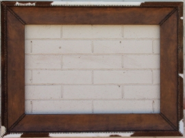 Cowhide & Leather Handmade Frame, Click on Leather Frames under Custom Picture Framing to see more examples.