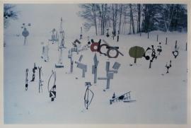 Dan Budnik David Smith's North Field, Terminal Iron Works, Bolton Landing, New York, Winter 1962-63 Dye Transfer, $6,000.00