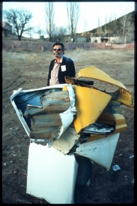 John Chamberlain, Cerro Gordo Compound, Santa Fe, New Mexico, 1966