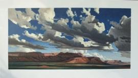 Ed Mell Vermilion Cliffs 2008 78 Color Stone Lithograph 20x40, $1,000.00