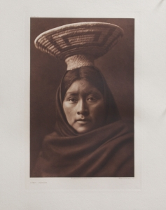 Luzi, Papago, Full Sheet, Edward S. Curtis, North American Indian, Photogravure 1907 Plate 53 15.5 x 10.25 inches, $6,000.00