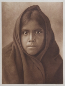 Qahatika Girl, Edward S. Curtis, North American Indian, Photogravure 1907 Plate 56 15.5 x 11.75 inches, $25,000.00