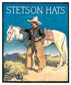 Stetson, Man and Horse, Lon Megargee. Call for pricing and size.