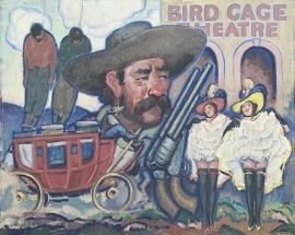 Bird Cage,Tombstone, Arizona, Lon Megargee. Call for pricing and size.