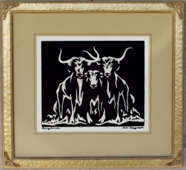Longhorns Lon Megargee