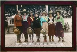 Pendleton Roundup 1918 40 x 60 inches