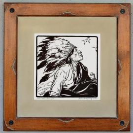 The War Bonnet Custom frame design