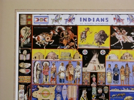 Indians of North America, Detail 1