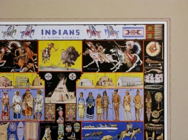 Indians of North America, Detail 2