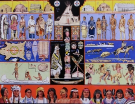 Indians of North America, Detail 3