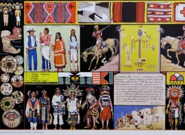 Indians of North America, Detail 4