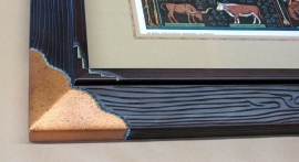 Copper corner Mora Frame Detail 1