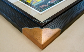 Copper corner Mora Frame Detail 2