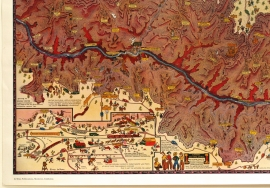 Grand Canyon, Jo Mora Detail 3