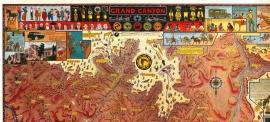 Grand Canyon, Jo Mora Detail 5
