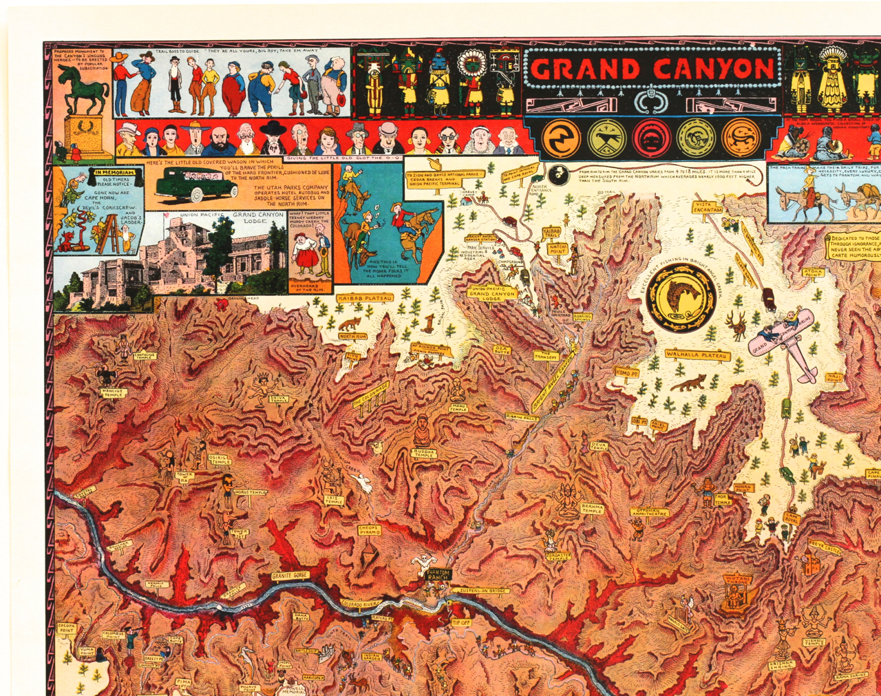 Jo Mora Rare Illustrated Posters And Maps Collier