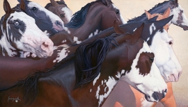 LA POSADA HARLEQUINS Limited to 175 40 x 70 inches $2900 Open edition: 20 x 35 inches $800