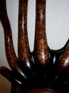 Kevin Irvin Octopus Cabinet Detail