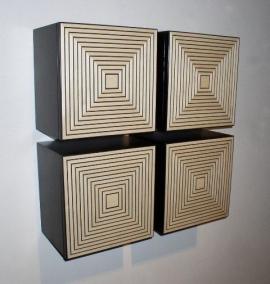 Kevin Irvin Maple Maze Box