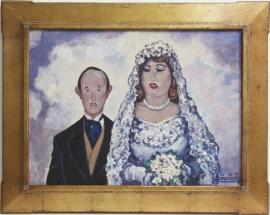 Love, Honor, Obey? Casein on board 19.75 x 26.75, $9,500.00