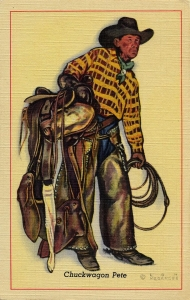 1 Chuckwagon Pete Postcard Series