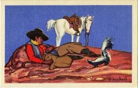 6 Desert Interlude Postcard Series