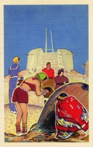 11 Me Get Pinup Girl Postcard Series