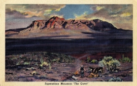 15 The Superstition Mountain Postcard Series