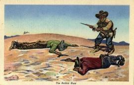16 The Rabbit Hunt Postcard Series