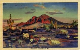 17 Sunset Camelback Mountain Postcard Series