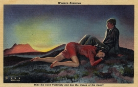18 Western Romance Postcard Series