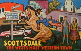 Scottsdale Arizona Postcard