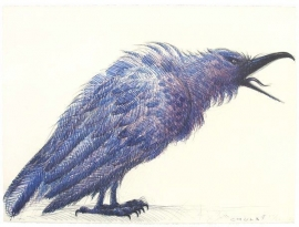 Chula, Stone Lithograph 1987 22 x 30 inches. Call for availability.