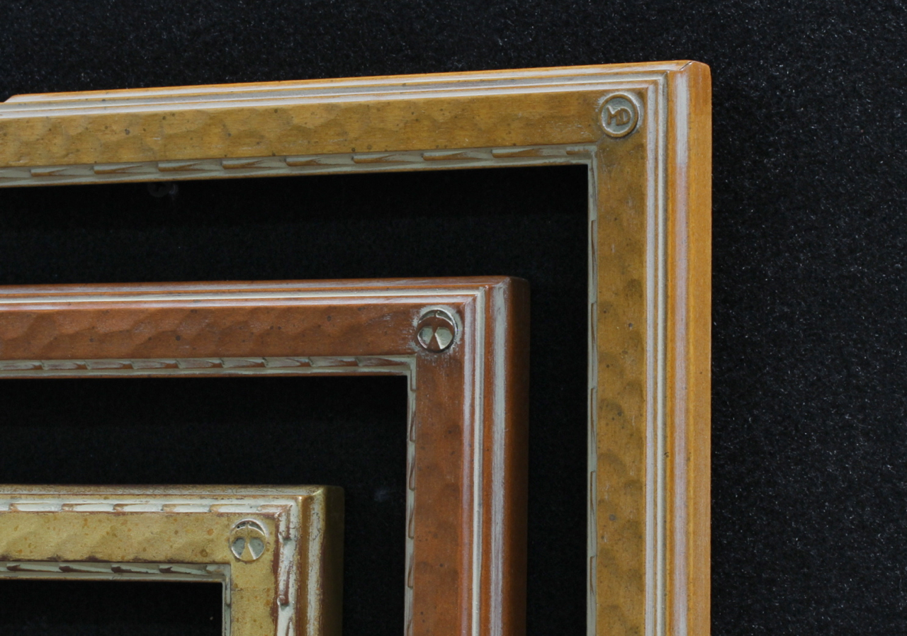 Maynard dixon collier gallery ltd dixon signature 1 inch drawing frames 2 gilded in gold leaf and wood tone finishes jeuxipadfo Images