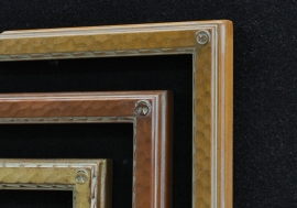 Dixon Signature 1 Inch Drawing Frames #2 Gilded in Gold Leaf and Wood tone Finishes
