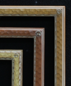 Dixon Signature 1Inch Drawing Frames Gilded in Gold Leaf and Wood tone Finishes