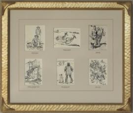 Maynard Dixon Original Illustrations for