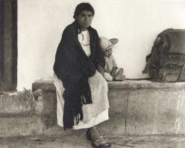 15. Woman and Baby - Hidalgo