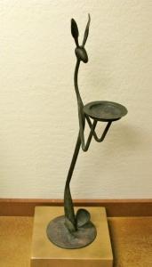 Thomas Molesworth Inspired Jack Rabbit Ashtray by Rick Merrill 37H x 9W x 12D inches $1,800.00