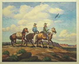 Bomber Buckeroos Till Goodan 26X31Price on Request for individual print. Set of six $1000.00, free shipping