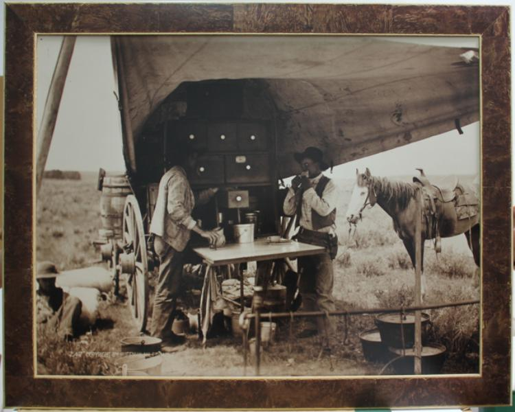 Laton A Huffman – The Round Cook and Pie Biter at Work c.1890's  $1,800.00